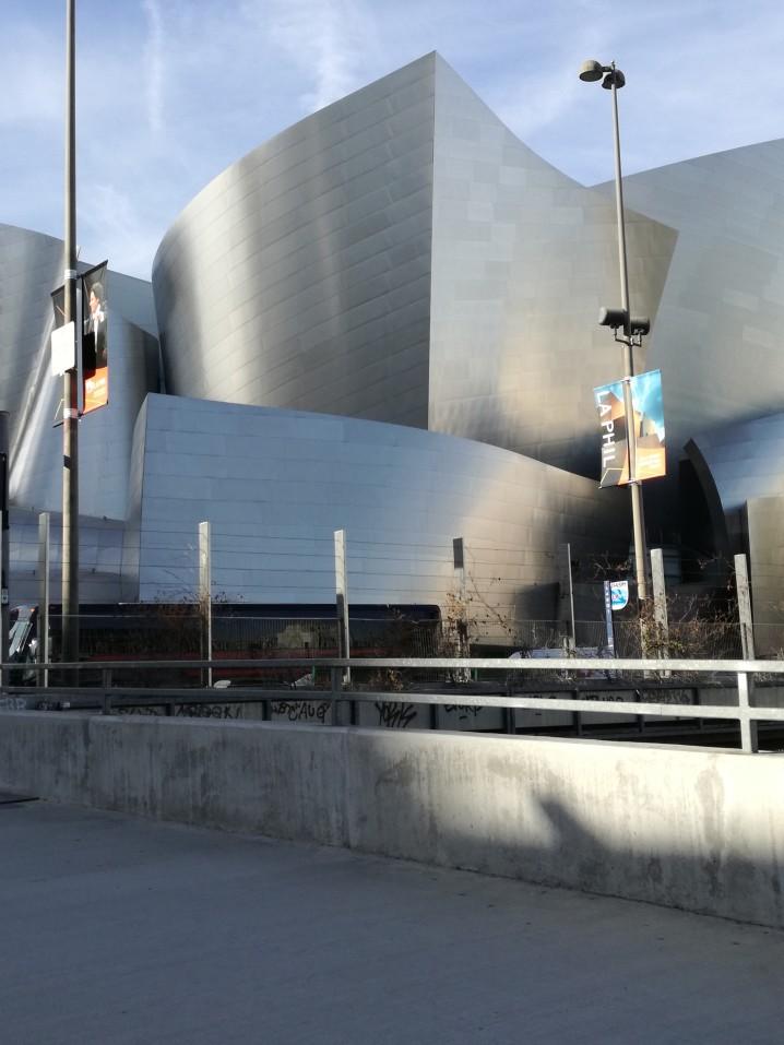 Walt Disney concert Hall Downtown Los Angeles