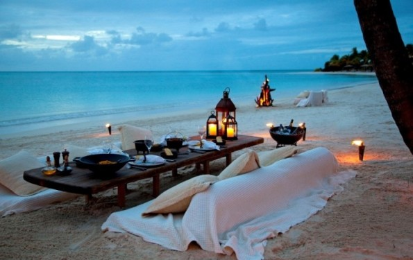 Viaggio di nozze romantico