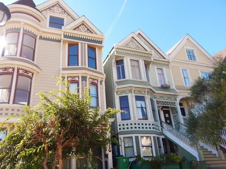 Visitare San Francisco casette