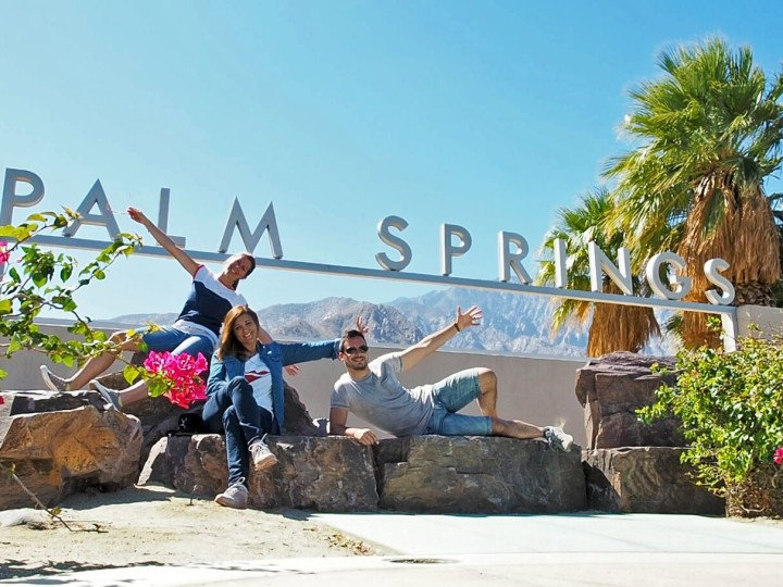 Visitare Palm Springs California