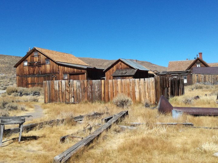 california on the road Bodie