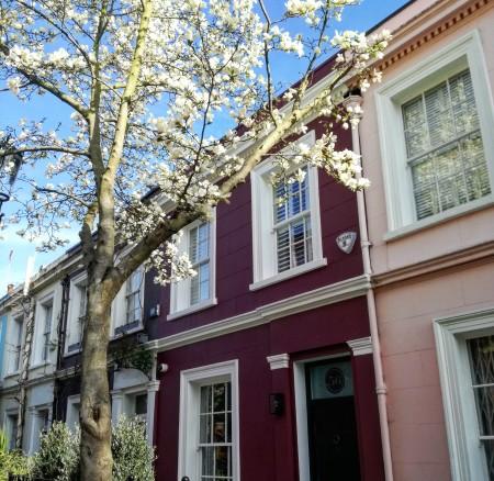 Case colorate a Londra, dove sono (oltre a Notting Hill)