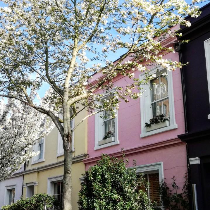 Notting HIll e Portobello itinerario a piedi Londra