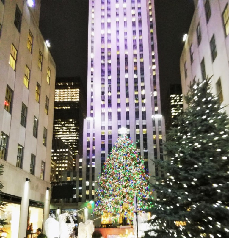 Natale a New York Rockfeller Center
