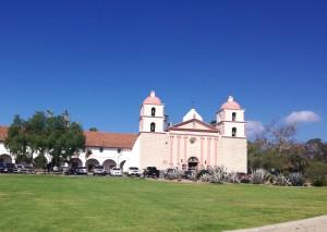 Visitare Santa Barbara California Old Mission