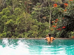 Viaggio di nozze a Bali infinity pool